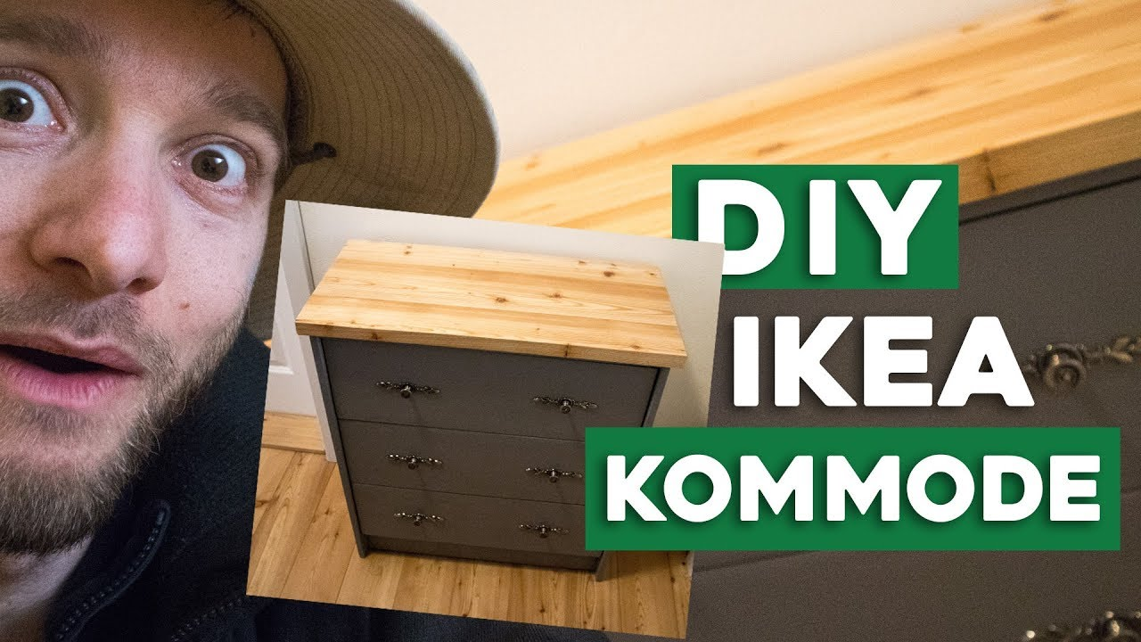 Kommode Umgestalten Ikea Mobel Hack D I Y Youtube