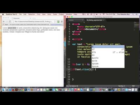 Javascript Tutorial For Beginners #20  How To Find And Replace Text In Javascript
