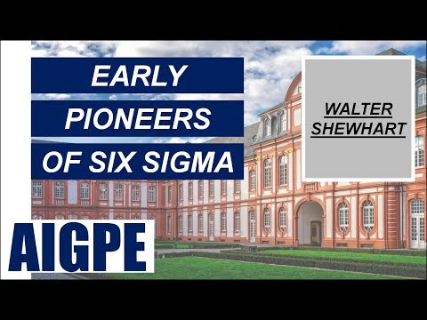 Walter Shewhart - the early pioneer of Six Sigma - Part 04 (FREE Mini Course Series)