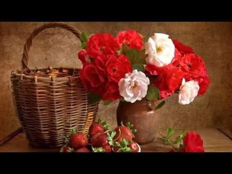 Живопись  Натюрморты с цветами