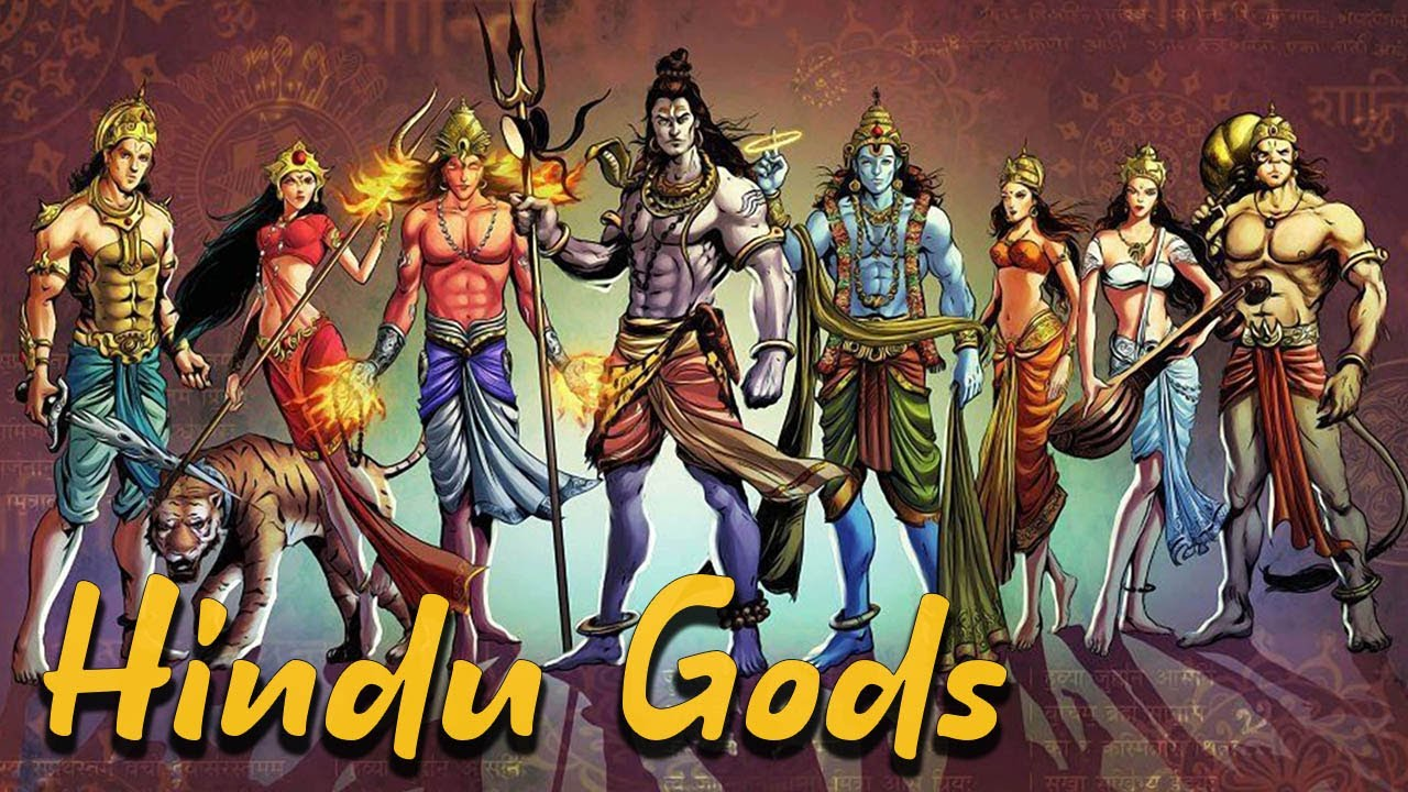 Download The Most Important Hindu Gods: Shiva - Vishnu - Brahma - Hanuman - Ganesha - Vol 1- See U in History