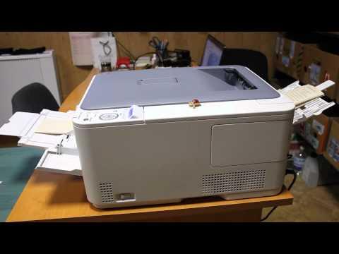 Печать вкладышей на лазерном принтере OKI C510dn