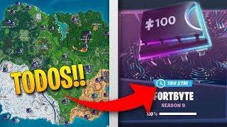 Find out the LOCATION OF ALL FORTBYTES in REAL TIME with THIS SITE! Fortnite