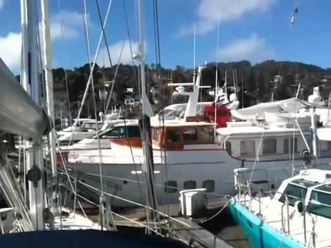 Tsunami Surge Sausalito Yacht Harbor