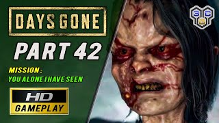 Days Gone Ps4 Walkthrough Gameplay  You Alone I Have Seen  Part 42  3cgames