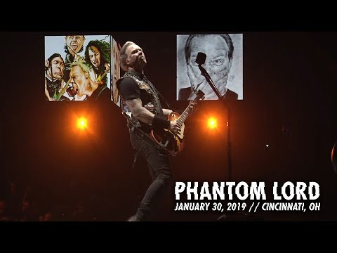 Metallica: Phantom Lord (Cincinnati, OH - January 30, 2019)