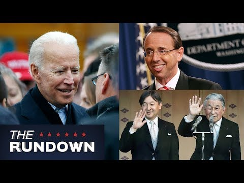 Rod Rosenstein Resigns, New Japanese Emperor Takes Throne, and More!