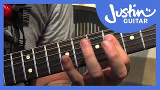 lick #19: minor 9 (guitar lesson lk-019) how to play