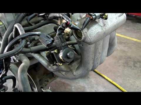 Фото к видео: Как НЕ НАДО обслуживать автомобиль, 4g19 MMC COLT
