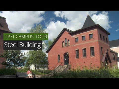 Steel Building - UPEI Campus Tour