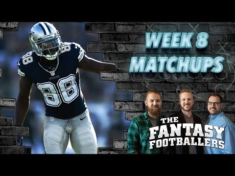 Fantasy Football 2016 - Week 8 Matchups, In-or-Out, Garbage Bortles - Ep. #296