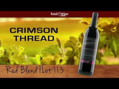 Crimson Thread Lot 113 Red Blend Wine