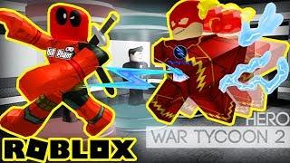 Roblox - France L'oignon Flash Vamy fesses dodues Snatch Deadpool KiA (fr) Hero War Tycoon 2 - France Vamy Tran (en)
