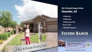 Fulton Ranch Homes Chandler AZ - Sold by the Amy Jones Group