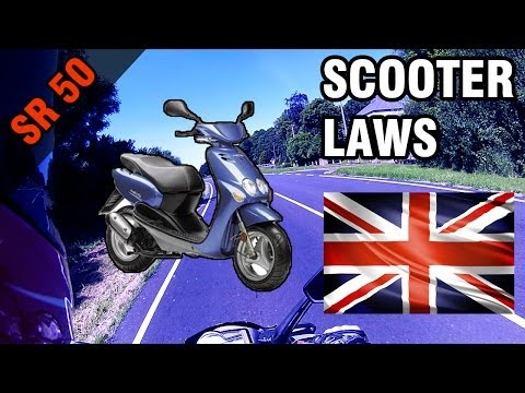 SCOOTERS & UK LAWS [Vlog]