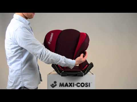 Maxi-Cosi Rodi SPS car seat - How to put on the cover