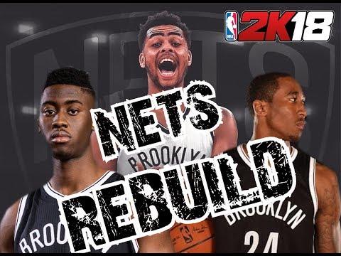 DID IT ONLY TAKE ONE SEASON!? BROOKLYN NETS REBUILD! NBA 2K18