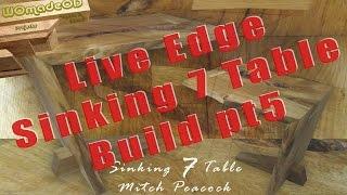 Bridal joint - Build a Live Edge Table part 5