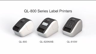 brother ql 800 ql 810w ql 820nwb professional label printers