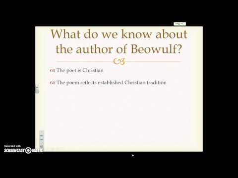 Beowulf: An Epic Poem