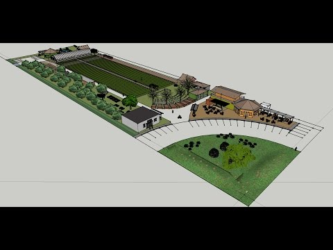 North Richmond Farm -- Draft Conceptual Design Animation for Urban Tilth