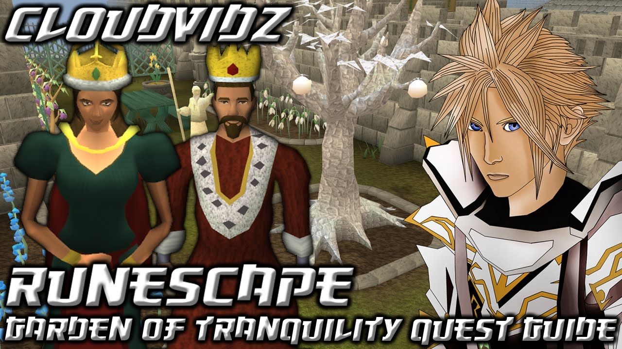 Runescape Garden Of Tranquility Quest Guide Hd Youtube