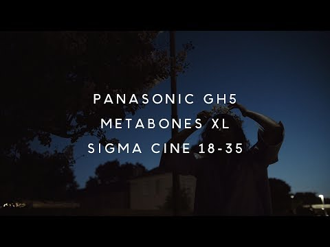 Nightlife - GH5 + Metabones XL + Sigma Cine 18-35