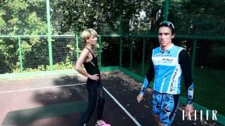 Как тренироваться в парке: фитнес на свежем воздухе от Полины Киценко