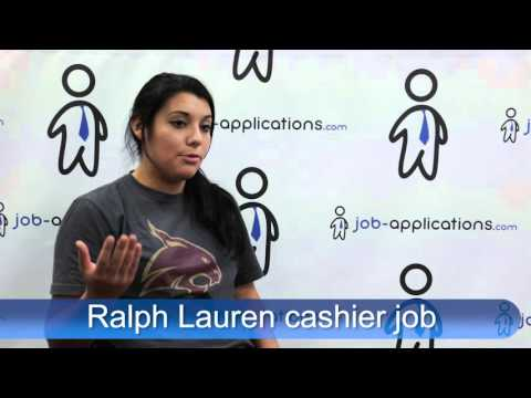 Ralph Lauren Interview  - Cashier
