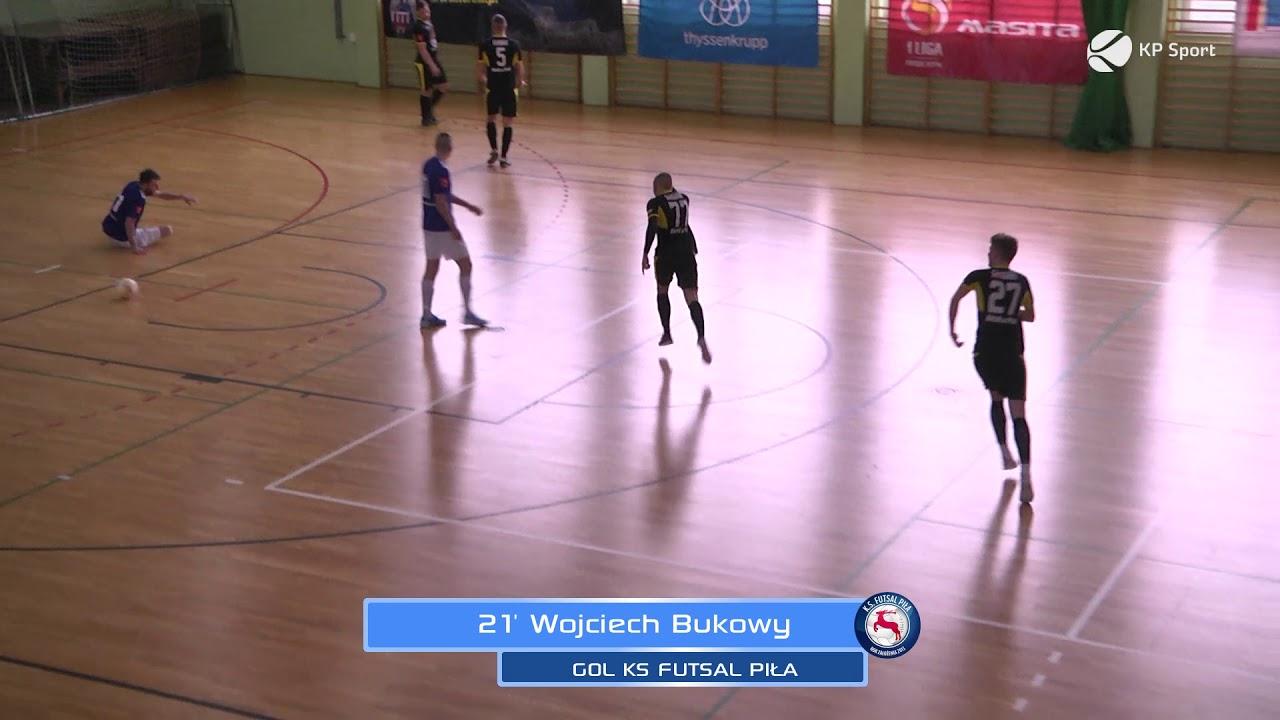 TAF Toruń - KS Futsal Piła / Skrót / 1 Polska Liga Futsalu [15.02.2020]