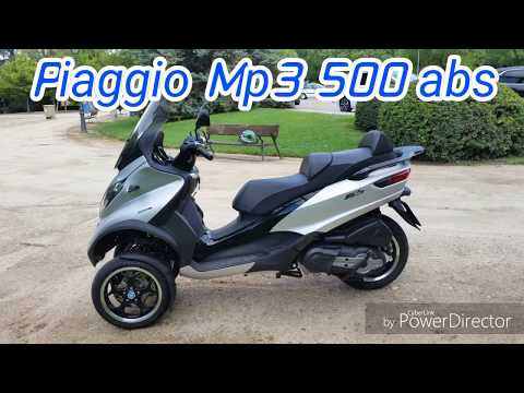 2018 Test Piaggio Mp3 500 abs prueba