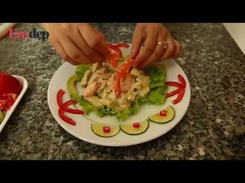 Hướng dẫn nấu món salad quả bơ trộn tôm ngon khó cưỡng