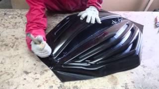 Вакуумная формовка,из стеклопластика в абс пластик(Следующая работа по созданию вакуум формы,матрицы под формовку АБС пластика,, 2016-02-19T17:38:14.000Z)