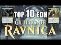 Top Ten Commander Cards in Guilds of Ravnica