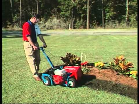 E Z Trench Bedscaper Bed Edgers Youtube