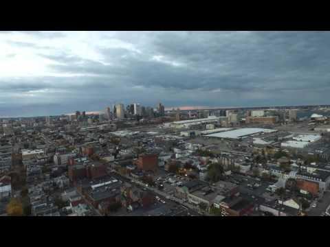 Downtown Boston by Drone