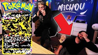 LA MEILLEURE OUVERTURE ! BATTLE OUVERTURE DE BOOSTERS POKEMON MICHOU VS DAVIDLAFARGEPOKEMON PARTIE 2