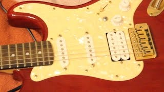 Гитара за 4000! | дешёвая электрогитара | моя новая гитара