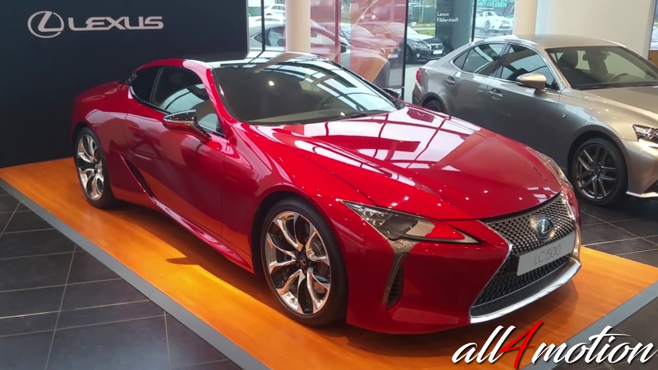 Lexus Is 350 >> First Look: LEXUS LC500 Coupe 5.0L V8 473HP red Exterior ...