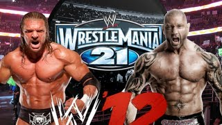 100th Video: Wrestlemania 21 - Triple H vs Batista Re-Creation (WWE 12)