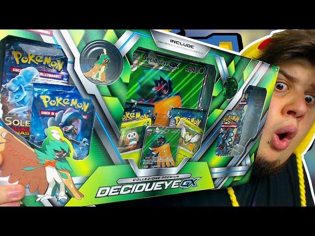 APRO LA COLLEZIONE DI DECIDUEYE GX E LA SALVO PER MIRACOLO! - Pack Opening Pokémon