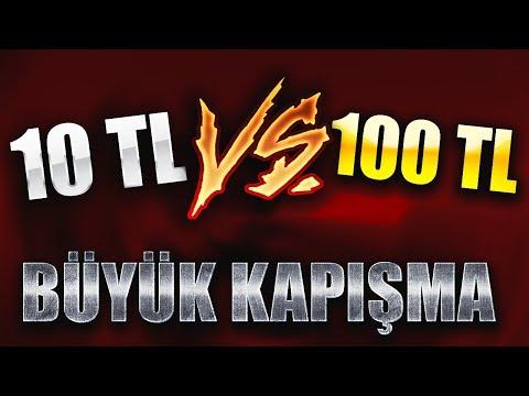 TÜRKİYE'DE İLK !! ZULA'DA 10 TL VS 100 TL İLE BİR GÜN GEÇİRMEK !!