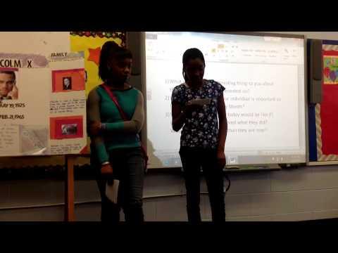 6th Black History Presentations