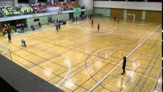 第31回全国選抜フットサル大会関東大会 vs群馬 ハイライト