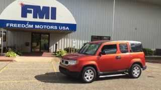 2011 Honda Element Automatic Driver Side Wheelchair Accessible Ramp Low Miles Super Cool!