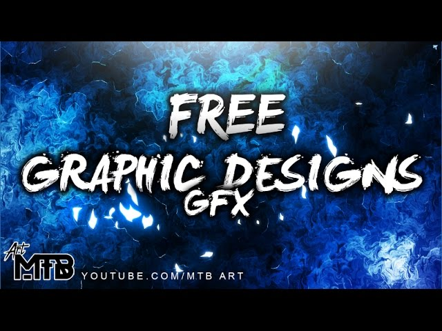 FREE Graphic Designs (GFX) - Banners, Thumbnails and Outro Maker (Intro of the channel)
