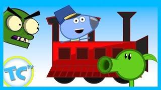 KIDS CARTOON! ToonCornerDoodles! Train Part 1!