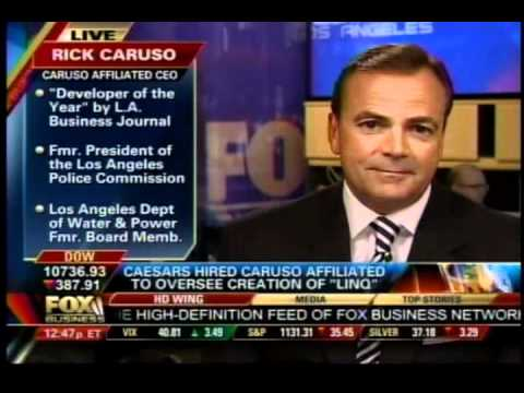Rick Caruso Interview with Fox Business News About The Linq