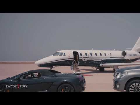 Executive Sky - Private Jets VIP charter flights on our managed fleet