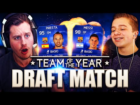 TOTY DRAFT VS CHRISMD! FIFA 15 ULTIMATE TEAM